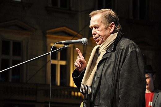 Václav Havel, 17. November 2009 (Urheber: Ben Skála, Quelle: Wikipedia)